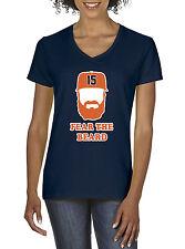 "V-NECK Ladies Carlos Beltran  Houston Astros ""Fear The Beard""  shirt Ladies"