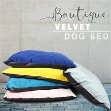 Boutique Luxury Soft Velvet Dog Bed Cushion Mattress Puppy Machine Washable
