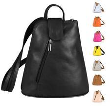 Señora cuero mochila bandolera backpack Shopper crossover Daypack Bag viaje