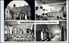 DDR Ansichtskarte MAGDEBURG Kloster Unser Lieben Frauen Ansichtskarte gelaufen