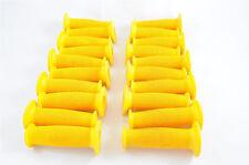 10x PAIA BMX Grip Funghi Giallo All'ingrosso Lavoro Lotto Vecchia Scuola Bmx + TUTTE le BMX