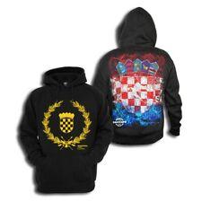 zoonamo Sudadera Croacia 100 NUEVOS % Algodón Croacia Hrvatska Zagreb SPLIT