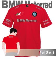 T Shirt Printed Bmw Motorrad 2 Motobike Racing Motorcycle Maglia Team Cotone 5cl