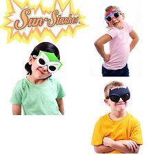 Kids Sun-Staches Shades Sunglasses Dress Up Super Hero Many Different! Halloween