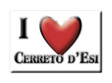 CALAMITA MARCHE FRIDGE MAGNET MAGNETE SOUVENIR LOVE CERRETO D'ESI (AN)