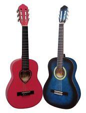 1/2 Kindergitarre, Konzertgitarre Classic, Rechtshand, Blau oder Pink, Farben +Ü