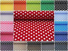 Punkte Tupfen Stoff 100 % Baumwolle Stoffe Patchwork Deko Bekleidung 1485576