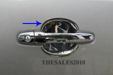 2 DOOR CHROME HANDLE INSERT FOR TOYOTA HILUX VIGO SR5 MK6 2005-2014