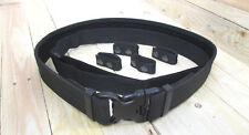 Einsatzgürtel Komplett-Set Ober-, Untergürtel + 4 Beltkeeper * Gürtel mit Koppel