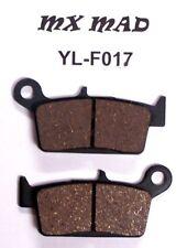 Yamaha WR 250F REAR brake pads 2001 - 2002 YL-F017