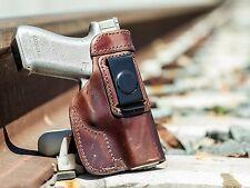 Ruger SR9 & SR40 Full Size | Full Grain Leather IWB Conceal Carry Holster
