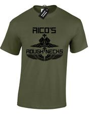 RICO'S ROUGHNECKS MENS T SHIRT STARSHIP TROOPERS SCI-FI MOVIE INFANTRY RASCZAKS