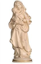 Statua Madonna della Pace Legno Natur - Our Lady of Peace Natural wood