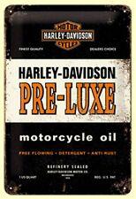 Harley Davidson Rétro panneau métallique avec motif SHOVELHEAD 20 x 30 cm NEUF