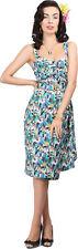 Collectif TALLULAH Tropical TOUCAN Tiki Sarong Dress / KLEID Rockabilly
