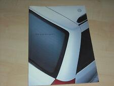 38062) VW Golf IV Variant Prospekt 04/2000