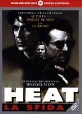 Dvd video **HEAT ♦ LA SFIDA** con Al Pacino Robert De Niro Val Kilmer nuovo 1996