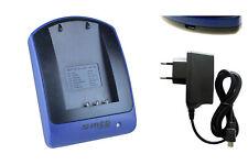 Chargeur (USB/Secteur) NP-60 pour Rollei DK3000, DT3200, DT4200, DSX410, DP5300