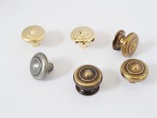 Möbelknöpfe Möbelgriff Knauf Tür Antik Vintage Alt Gold Messing Eisen Zinn V892
