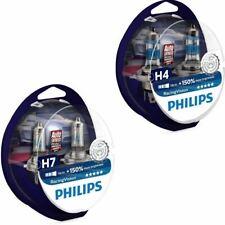 Philips Racing Vision H4 H7 bis zu 150% mehr Licht Halogenlampe  Duo 2Stk
