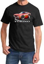 1970 1971 Ford Torino Stock Car Full Color Cartoon Tshirt NEW FREE SHIPPING
