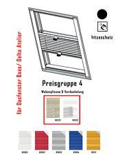 Plissee Mit Seitenschienen Verdunkelung Fur Braas Atelier Dachfenster Nach Mass