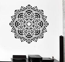 Wall Sticker Buddha Mandala Ornament Zen Meditation Vinyl Decal (z2935)