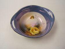 Noritake Bowl 2 handle Yellow Rose Luster Vintage