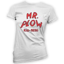 SIGNOR Aratro Da Donna T-Shirt-x14 Colori-Regalo Divertente Camion TV Neve Prop MEME
