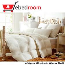 KB/QB/DB/SB 400gsm Microlush Quilt 330TC Cotton Sateen Cover-All Seaons' Blanket