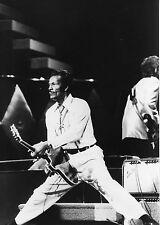 CHUCK BERRY  HAIL ! HAIL ! ROCK N ROLL 1987 VINTAGE PHOTO ANCIENNE N°3