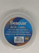 Seaguar Blue Label 100% Flourcarbon Leader Material 25yds