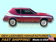 1977 AMC American Motors Gremlin X Decals & Stripes Kit