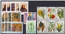 Vaticano 1992 annata completa (26 valori + 1 Bf) MNH
