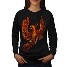 Pheonix Fire Bird Fantasy Women Sweatshirt NEW | Wellcoda