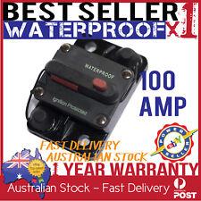 100 AMP CIRCUIT BREAKER - DUAL BATTERY CARAVAN CAMPING 4WD BOAT