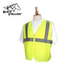 Black Stallion Mesh Safety Vest w/ Reflective Strips