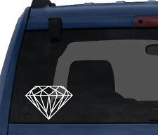 Diamond Design #4 - Jewellery Decoration Mineral Fractal -Car Tablet Vinyl Decal