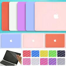 "3in1 Cream Lavender Rubberized Matte Case Cover for MacBook Air Pro 11"" 13"" 15"""