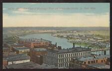 Postcard ST PAUL,Minnesota/MN   Wholesale Business Warehouses Aerial view 1907?