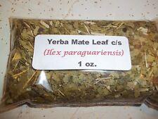 1 oz.  Yerba Mate Leaf c/s (Ilex paraguariensis)