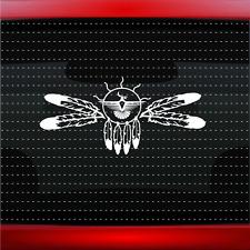 Dreamcatcher #5 Native American Car Decal Window Sticker Feather (20 COLORS!)