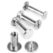 M5 Rivets Stainless Steel Flat Head Thread Rivet Screw Metal 6-50mm Set Rivets
