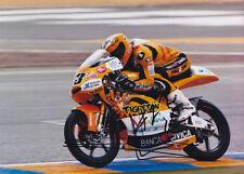 Alberto Moncayo Aprilia 125cc Signed Photo 5x7 2011 1.