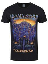 Iron Maiden T-shirt Dark Ink Powerslaves Men's Black