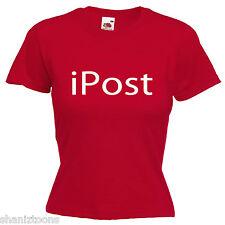 Postman Postal Worker Ladies Womens  Lady Fit T Shirt