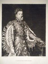 M Elisabetta Isabel Valois Regina Spagna Jacquemart 1870