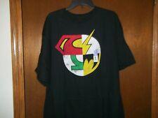 DC Comics Combined Heroes LOGO  T-shirt S-2XL