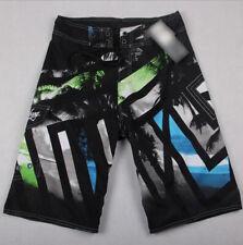 BLACK Mens Quick-Dry Swim Beach Pants Boardshorts Surf Shorts Board Casual 30-44