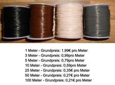 Lederriemen Lederband rund Lederrundschnur 0,5mm / 1mm aus Rindsleder NEU